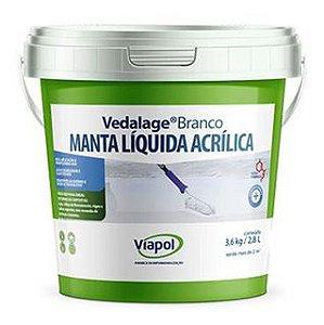 VIAPOL VEDALAGE BRANCO 3.6kg / 2,85L