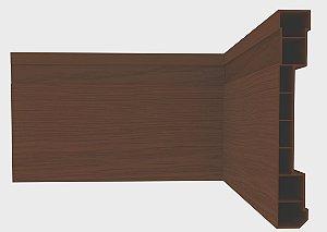 PLASBIL RODAPE NOBRE 100x15mm MOGNO C/ 2,4MT 0141.46