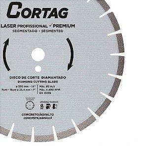 DISCO CORTAG 350mm ALFALTO CONCRETO 60667