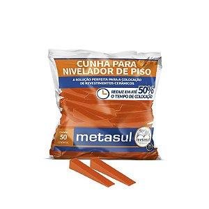 Cunha Nivela Piso Metasul C/50 pç