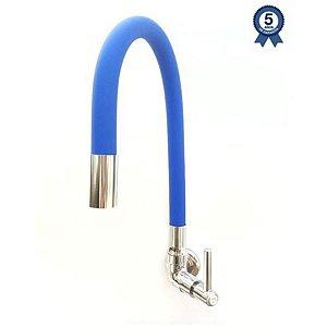 Torneira Parede 1170 C100 Azul 1/4v Talita