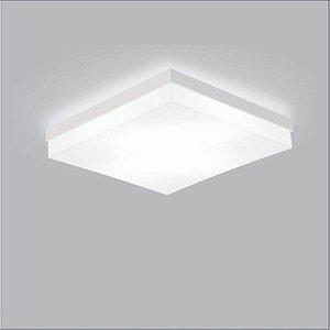 Plafon LED 18w Quadrado Sobrepor