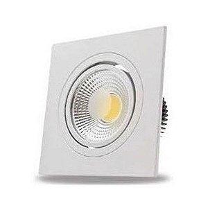 Spot LED Quadrado Branco 5w 1811