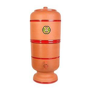 Filtro de água de barro 4L