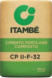 CIMENTO ITAMBÉ USO GERAL CP-II F32 COM 50KG (A VISTA)