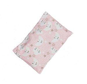 Almofada Térmica Semente e Ervas Calm Baby NUVENS ROSA |Olin