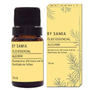 Óleo Essencial Alecrim 10ml | By Samia