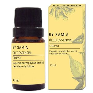 Óleo Essencial Cravo 10ml | By Samia