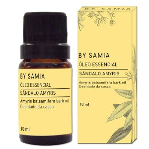Óleo Essencial Sândalo Amyris 10ml | By Samia