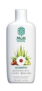 Shampoo Hidratação Cabelos Ressecados 240ml | Multivegetal