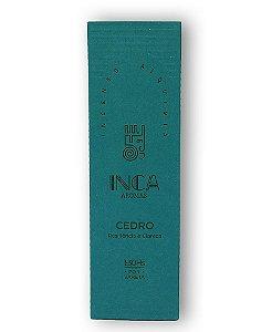 Incenso Terapêutico Natural CEDRO | Inca Aromas