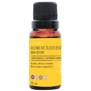 Blend de Óleos Bem Estar 15 ml | By Samia