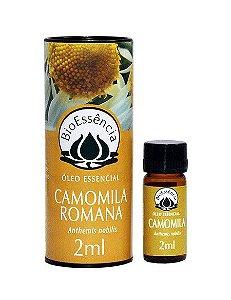 Óleo Essencial Camomila Romana 2ml|BioEssência