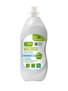 Multiuso Concentrado Sensitive sem Fragrância 1l | Biowash
