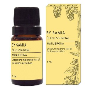 Óleo Essencial Manjerona 10ml | By Samia