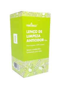 Lenço de Limpeza Anti-odor 20un | Vetfleur