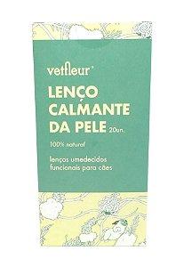 Lenço Calmante da Pele 20un | Vetfleur