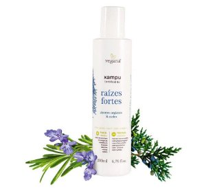 Shampoo Raízes Fortes 200ml |Vegana