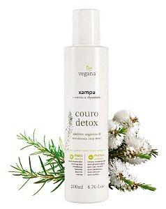 Shampoo Couro Detox 200ml |Vegana
