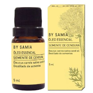 Óleo Essencial Semente de Cenoura 5ml | By Samia