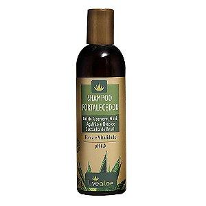 Shampoo Fortalecedor 240ml | LiveAloe