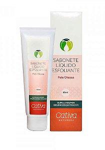 Sabonete Esfoliante Facial Pele Oleosa 80g | Cativa Natureza