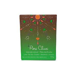 Sabonete Natural Limão, Copaíba e Tea Tree 100g | Pura Chuva