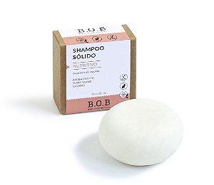 Shampoo Sólido Natural NUTRITIVO Cabelos Normais a Secos 80g | B.O.B