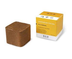 Limpador Facial Sólido Natural PELE NORMAL 55g | B.O.B
