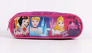 Estojo Escolar Infantil Dermiwil Princesas Disney 52095