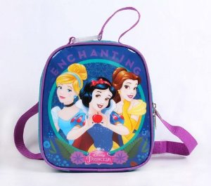 Lancheira Infantil Escolar Princesas Grande Dermiwil 52130