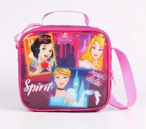 Lancheira Escolar Infantil Dermiwil Princesas Disney 52098