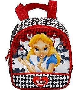 Lancheira Infantil Escolar Alice No Pais Das Maravilhas 7524