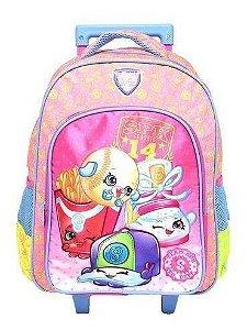 Mochila De Rodinha Escolar Infantil Xeryus Shopkins 6820