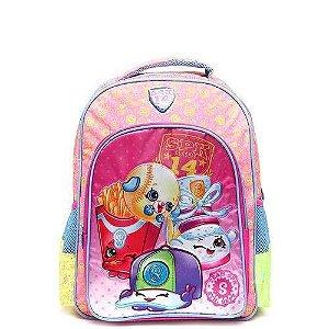 Mochila Infantil Escolar Shopkins Xeryus Rosa Grande 6822