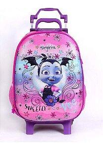 Mochila De Rodinha Escolar Infantil Dermiwil Vampirina 52198