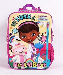 Mochila Infantil Escolar Dermiwil Doutora Brinquedos 51943