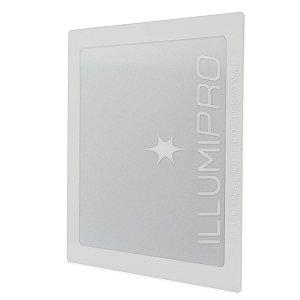 Luminária Painel Plafon Led 6w Branco Quente Quadrado Embutir