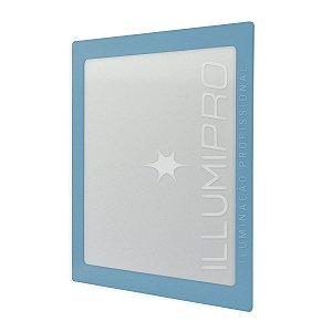 Luminária Painel Plafon Led 6w Colorido Quadrado Embutir