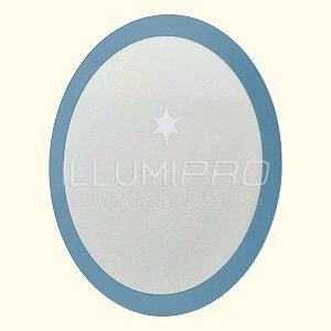 Luminária Painel Plafon Led 3w Colorido Redondo Embutir