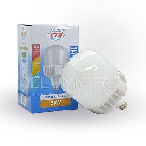 Lâmpada Bulbo Alta Potencia 50w Luz Branca CTB