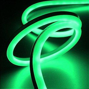 Fita Led Neon 127v Verde CTB 50 mts c/ conector