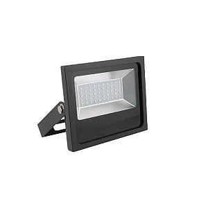 Refletor Holofote Led Luz Branca 50w Bivolt Resistente Agua