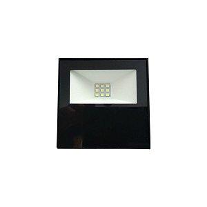 Refletor Holofote Led Luz Branca 10w Bivolt Resistente Agua