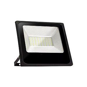 Refletor Holofote Led Luz Verde 50w Bivolt Resistente Agua