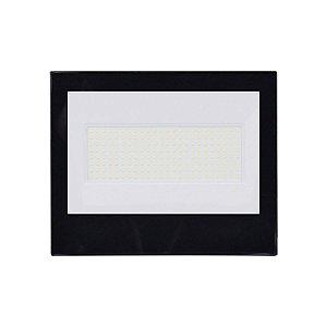 Refletor Holofote Led Branco 200w Bivolt Resistente Agua