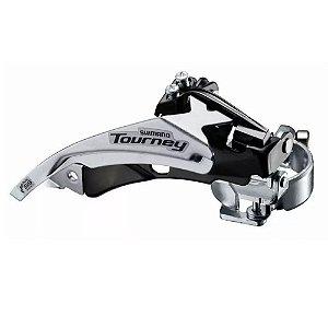 Câmbio Dianteiro Shimano Tourney Ty500 8v MTB