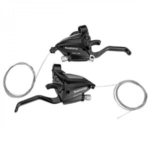 Alavanca Rapid Fire Shimano ST-EF500 24v Manete V-brake Disco - Par