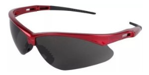 Óculos Jackson Safety Nemesis Vermelho Uv Lente Fumê Tático Ciclismo