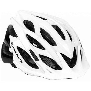 Capacete Absolute Wild Branco Preto 58-61cm Ciclismo Mtb